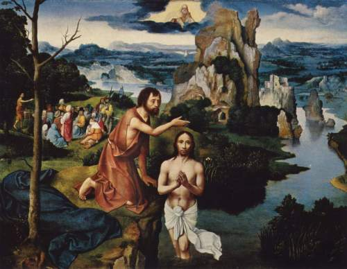 Joachim Patinir: Baptism of Christ